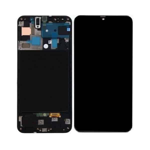 Display Samsung A715 Black