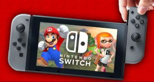 The Nintendo Switch can be played in portable mode or connected to the TV (LCD)