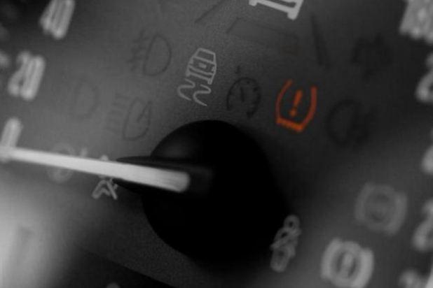 Tire pressure indicator