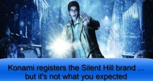 Konami registers the Silent Hill brand ... but it's not what you expected