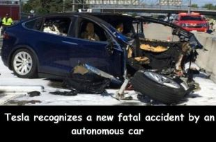 tesla car accident
