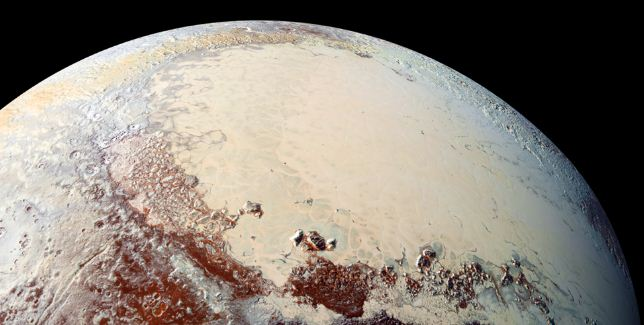 NASA Discovered exotic dunes on the surface of Pluto