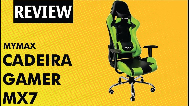 cadeira gamer mymax mx7