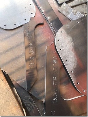 Hull plate cutting 8