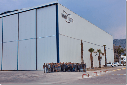 Naval Yachts group photo June 21-2019