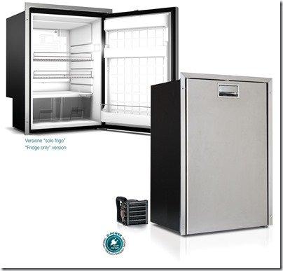 Vitrifrigo-C130LX-C130LAX-Stainless-steel-Refrigerator-Freezer-130lt