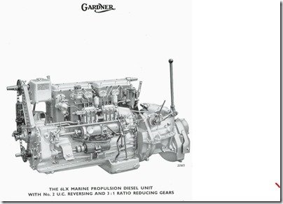 6LXB Marine Fuel Pump side illustration