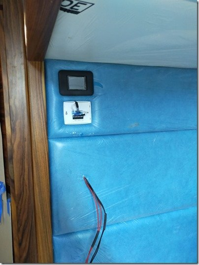 Master Cabin bed HVAC controllers