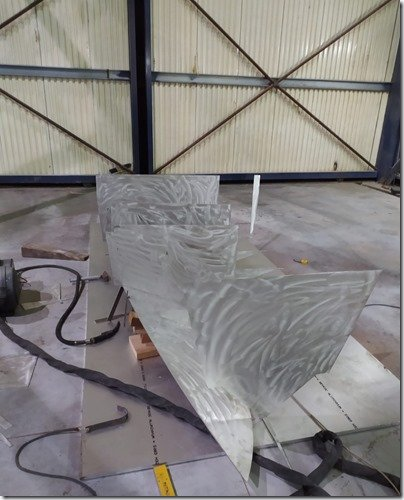 Tender starting to fabricate 2