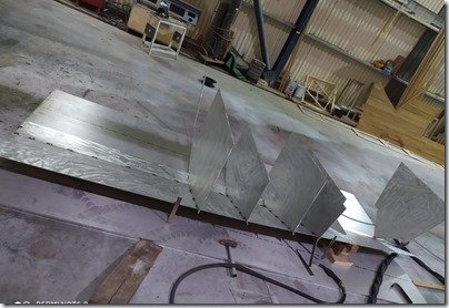 Tender starting to fabricate