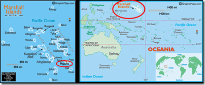 Map Marshall Islands