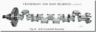 Gardner 6LXB crankshaft photo from manual