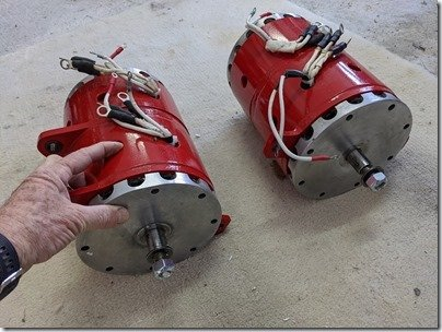 Electrodyne pair wo junction boxes