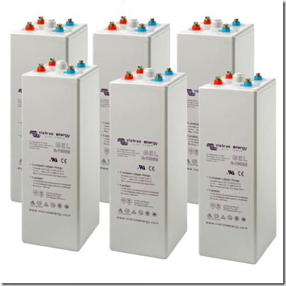 Victron Gel-OPzV-1000ah-batteries