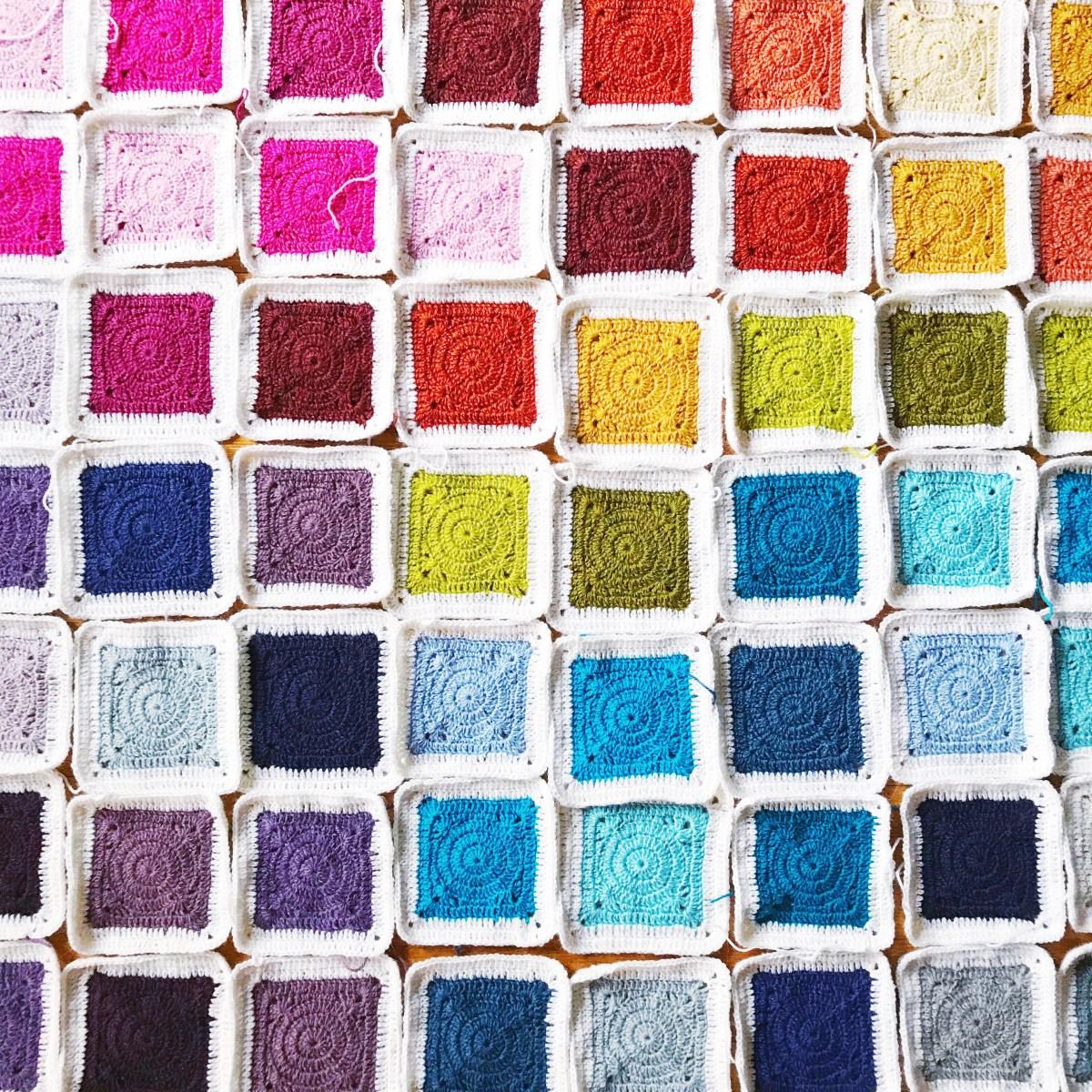 Bear's Rainbow Blanket