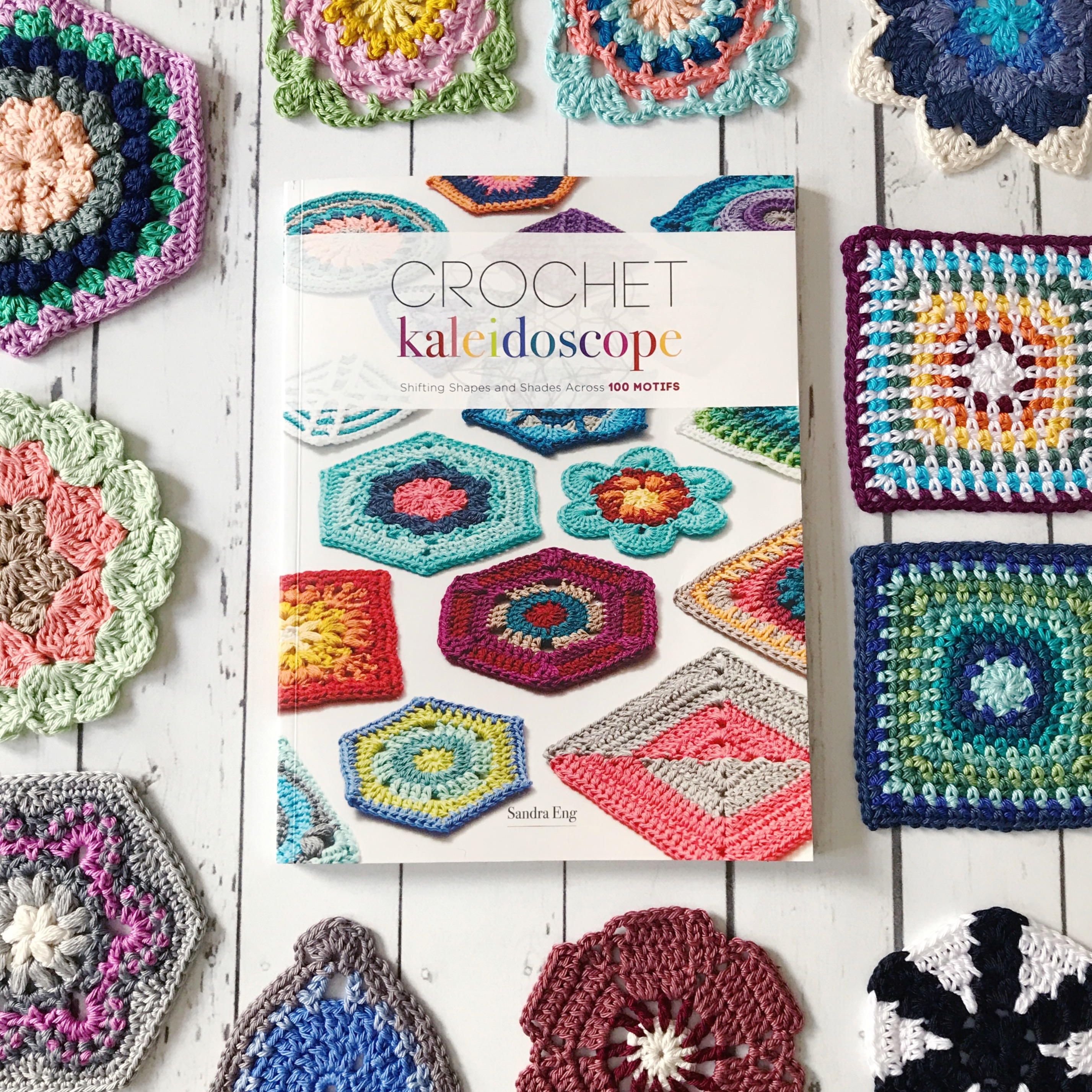 crochet kaleidoscope book