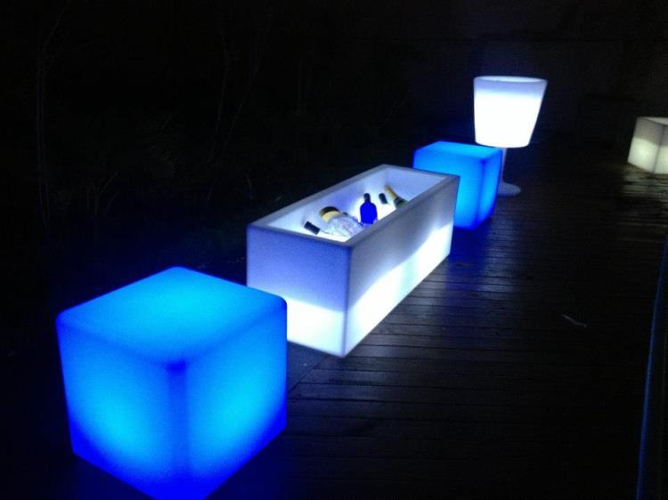 aluguel de puffs LED