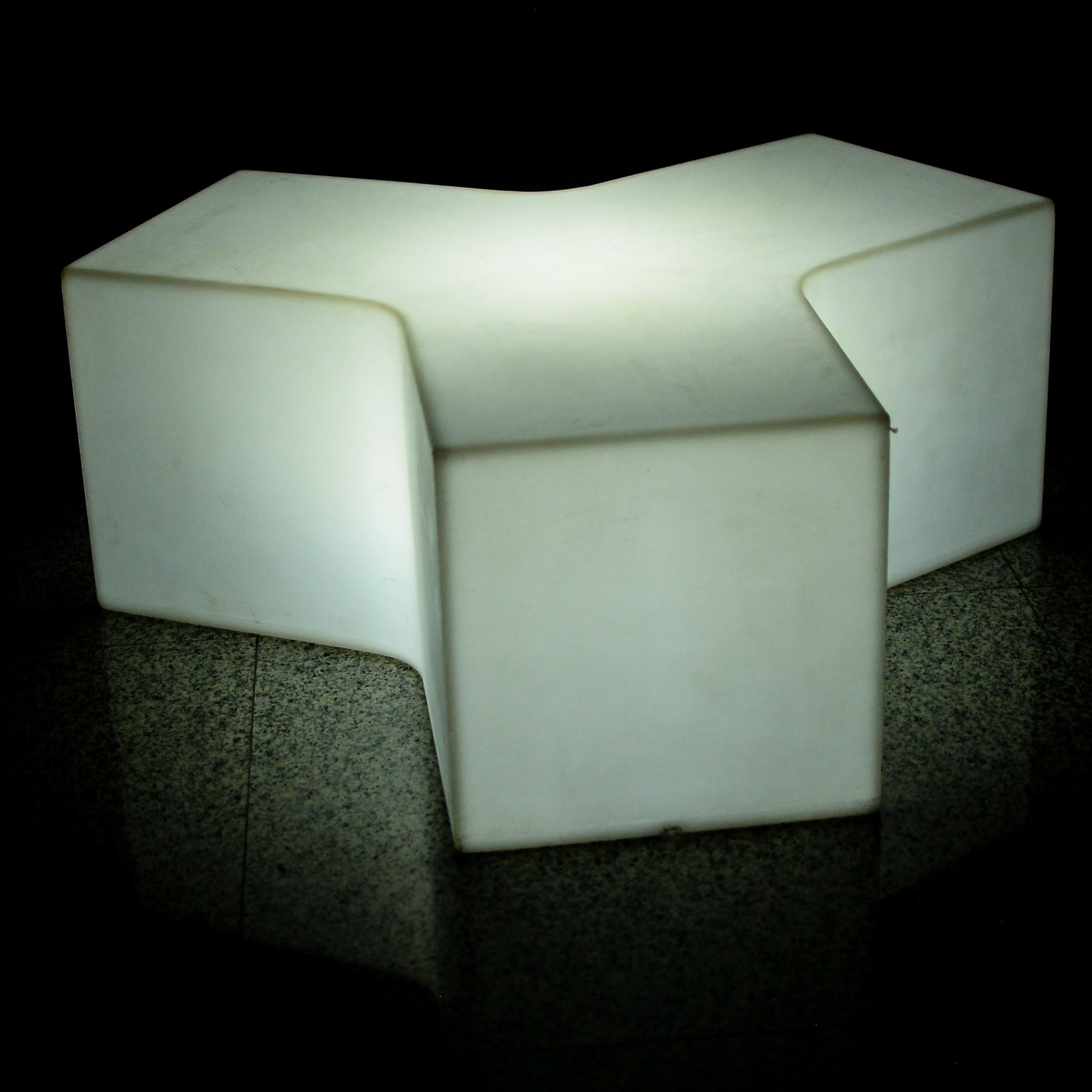 aluguel de móveis de LED para festas e eventos, festa personalizada, decoração diferenciada