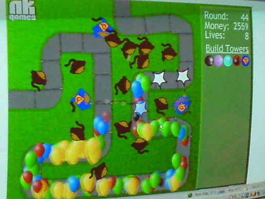 Addictive Monkey Balloon Popping Game At Bens Moblog