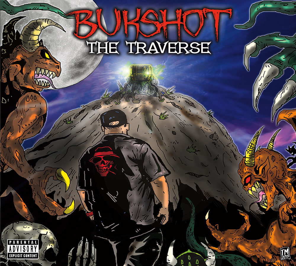 "Bukshot ""The Traverse"" CD"