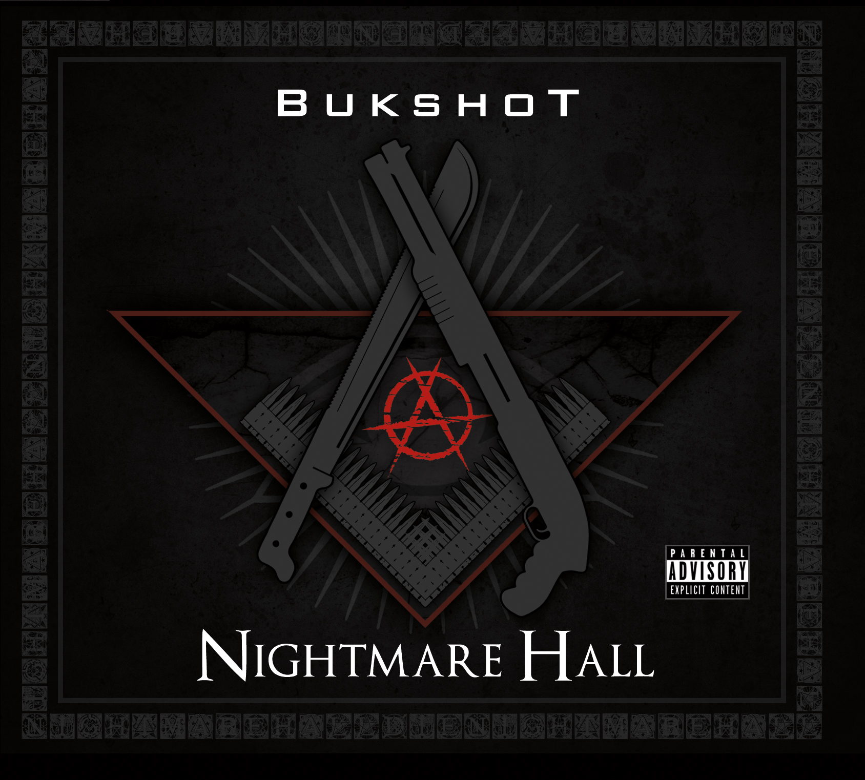 "Bukshot ""Nightmare Hall"" CD"