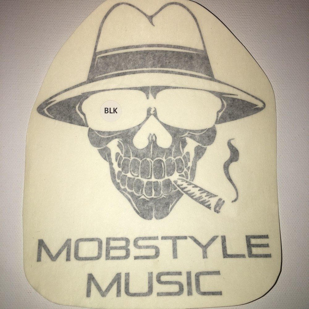 Mobstyle Music 5″ Vinyl Window Decal (7 Different Colors)
