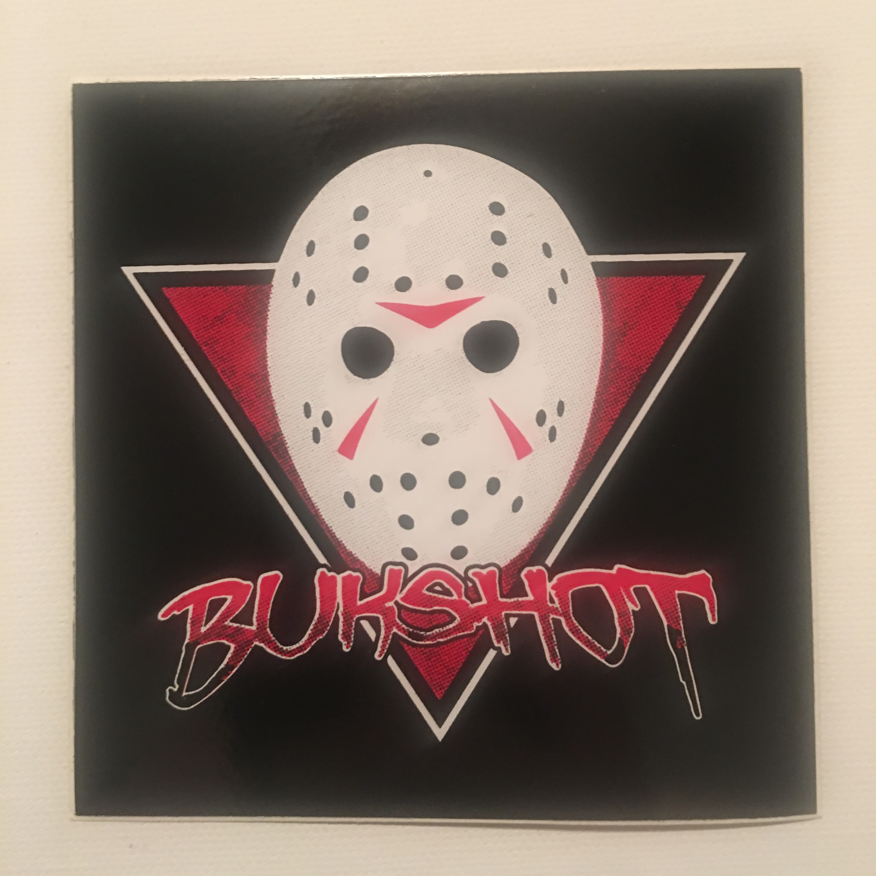 Bukshot 4″ Full Color Sticker