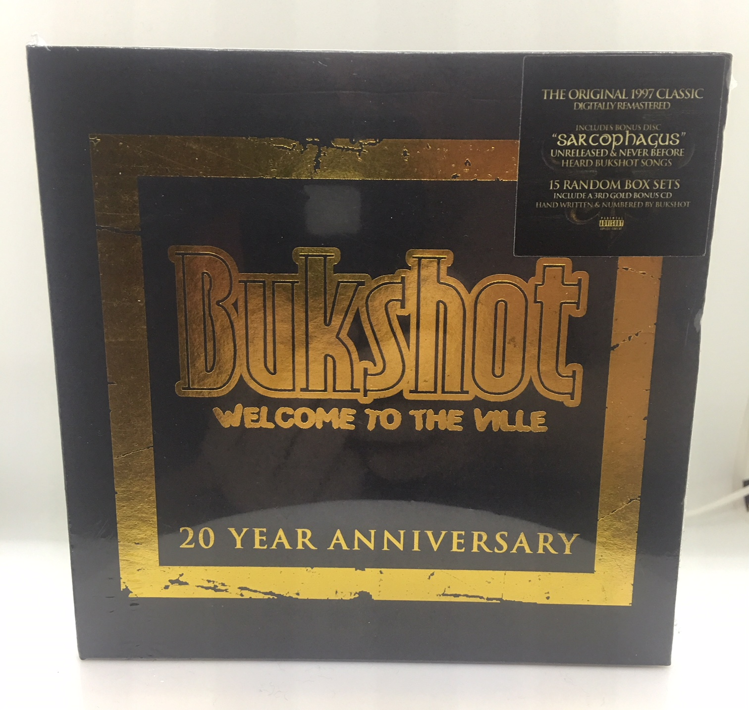 "Bukshot – Welcome To The Ville ""20 Year Anniversary"" Double Disc Box Set (Only 200 Pressed!)"
