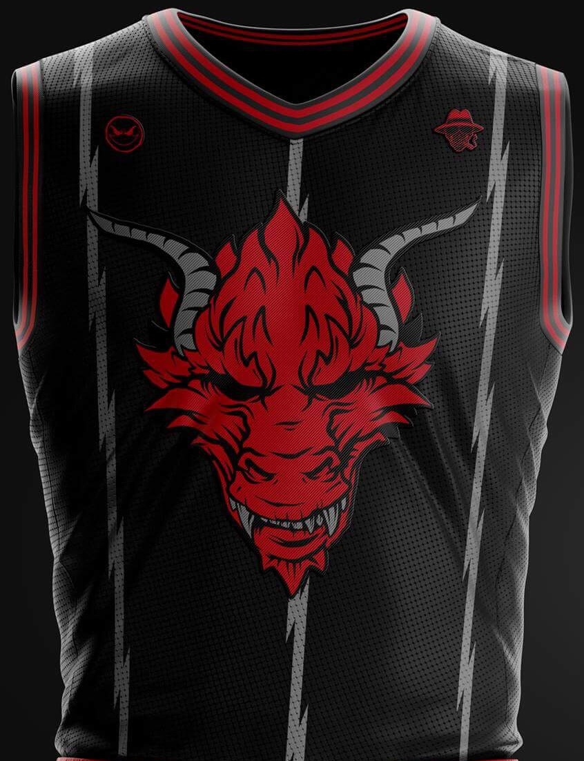 "Mobstyle ""Hellion"" Basketball Jersey"