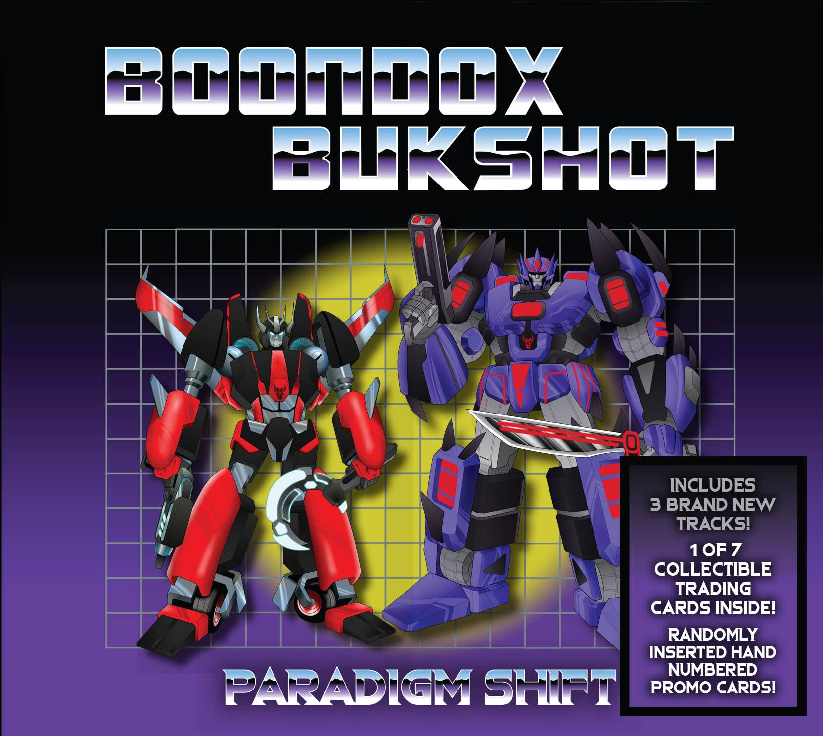 "Boondox X Bukshot ""Paradigm Shift"" CD! (Includes 3 Brand New, Unreleased Tracks!)"