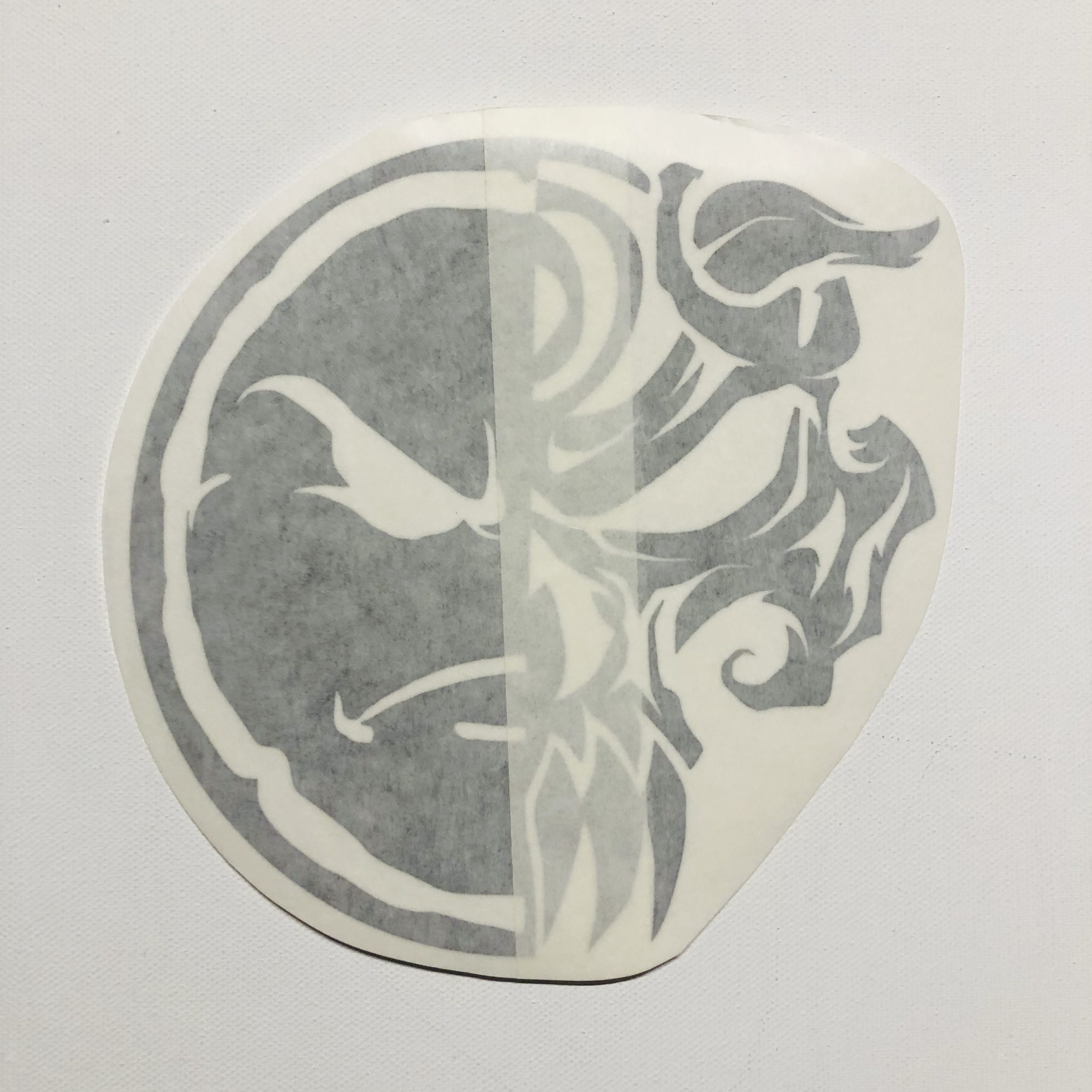 Turn-Dead 6″ Vinyl Window Decal (5 Different Colors)