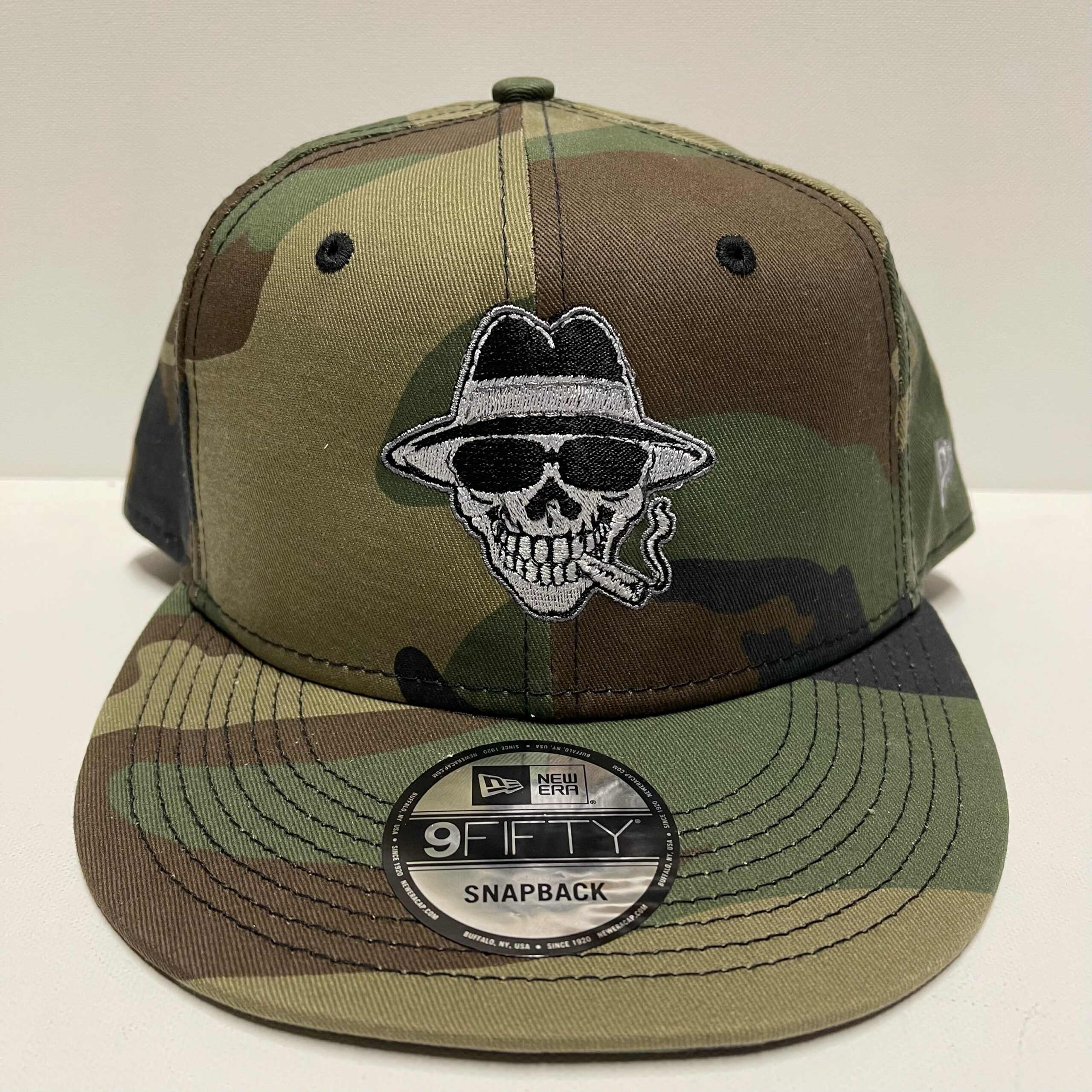 "Smoking Joe ""Spectre"" New Era 9Fifty Flat Bill Camo Snap-Back Hat"