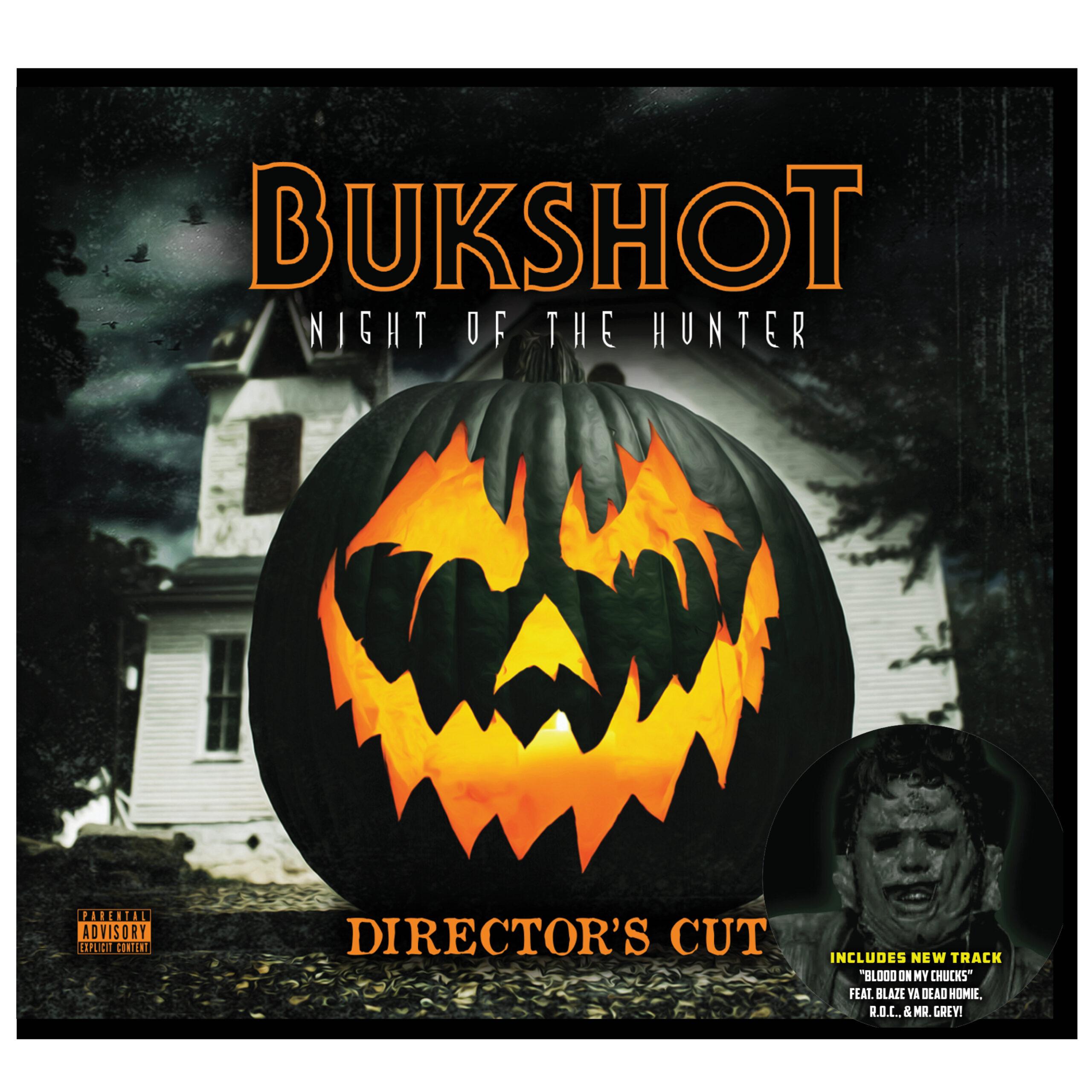 "Bukshot ""Night Of The Hunter"" Director's Cut CD! Includes BRAND NEW Bonus Track!"