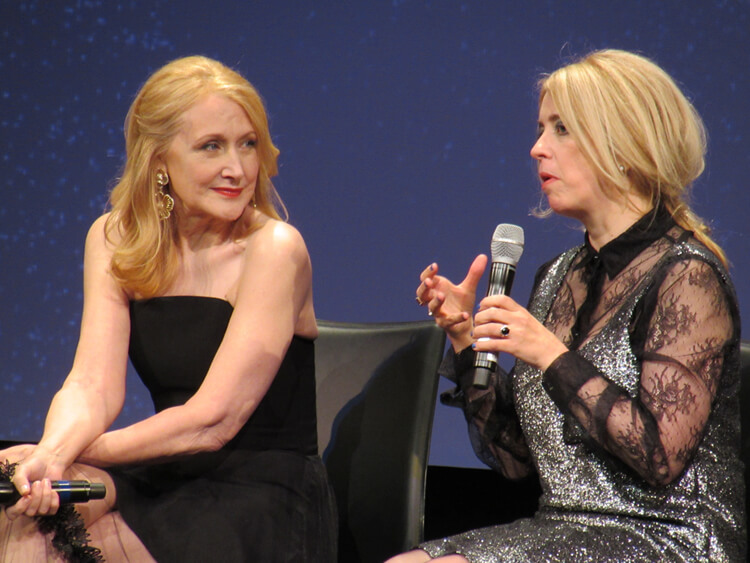Patricia Clarkson Carol Morley Out Of Blue TIFF