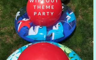 Wipeout theme party