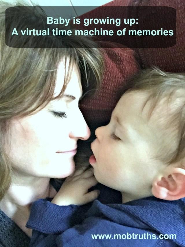 Baby closeness - tucked into my virtual time machine