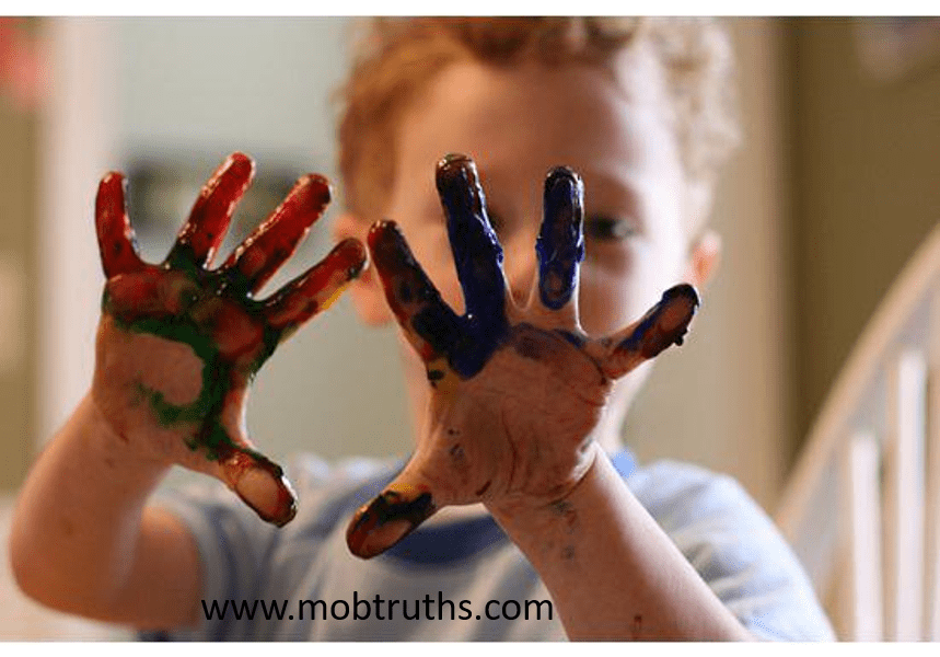 Encouraging creativity in children