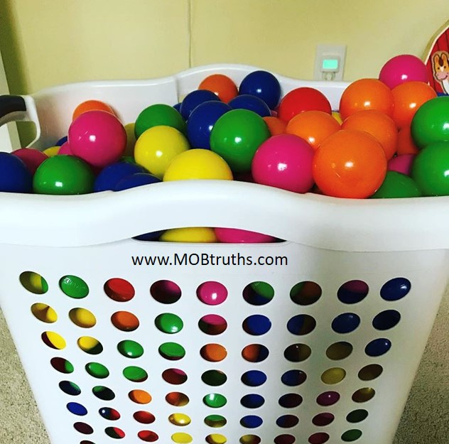 Ball pits are the perfect gift for kids of all ages.