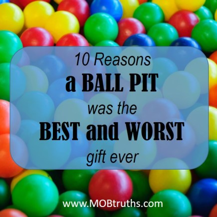 Ball pit - the perfect gift for kids of all ages