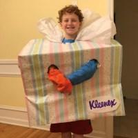 EASY, FAST DIY Cardboard Box Halloween Costumes