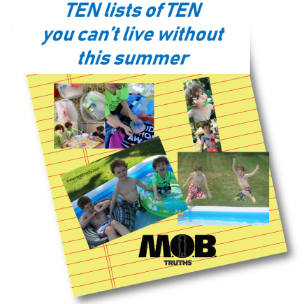 Ten must-have lists for summer survival