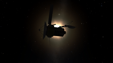 We are so close of Kerbol solar panels deliver a large amount of power.