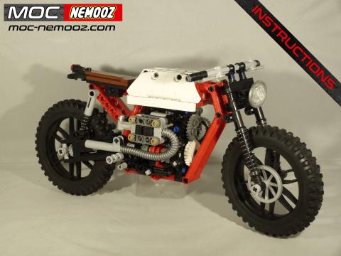 lego technic bmw r80 scrambler