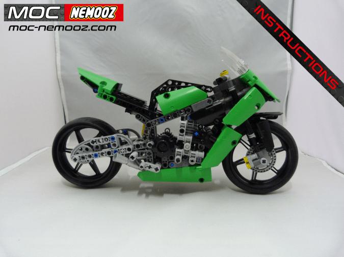 lego technic kawasaki zx10r