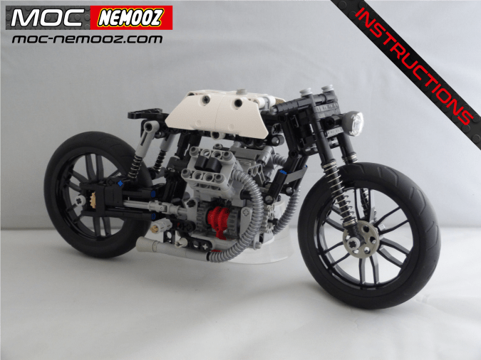 lego technic moto guzzi bobber