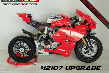 lego technic 42107 upgrade