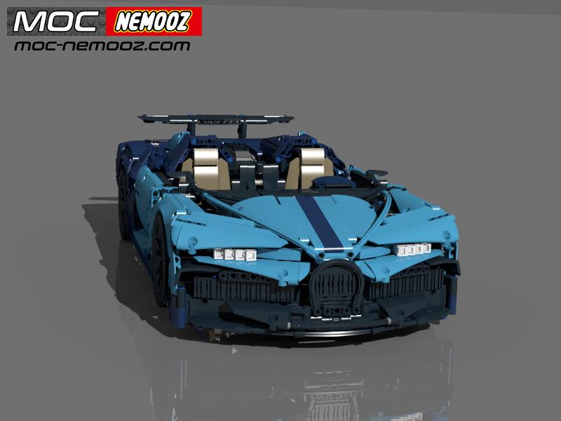 bugatti chiron speedster