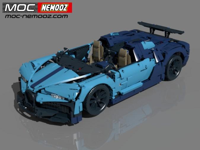 LEGO bugatti chiron speedster