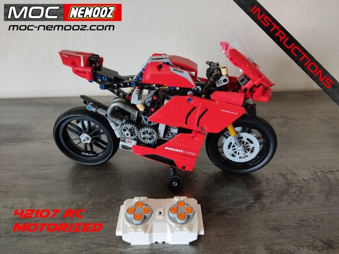 LEGO DUCATI panigale 42107 RC