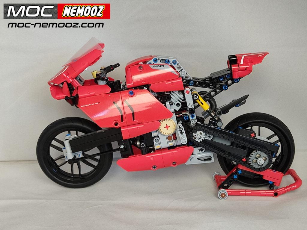 LEGO DUCATI panigale swingarm